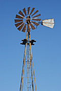 Burton Framed Prints - Windmill at For-Mar 3489 Framed Print by Michael Peychich
