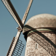 San Francisco Metal Prints - Windmill Metal Print by Eddy Joaquim