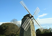 Hamptons Photos - Windmill by Estelita Asehan