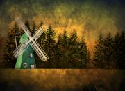 Brimfield Posters - Windmill on My Mind Poster by Evelina Kremsdorf