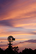 Pictures Photo Originals - Windmill Sunset 5 by Paul Huchton