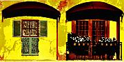 Window And Doors Print by Lyle  Huisken