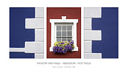 Houses Photographs Framed Prints - Window and Walls Framed Print by Natalie Kinnear