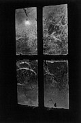 Black And White Photos Photos - Window at Castle Frankenstein by Simon Marsden