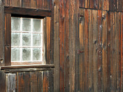 Window Panes Posters - Window At China Camp Poster by Methune Hively