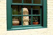 Steve Augustin - Window at Sanders Resturant