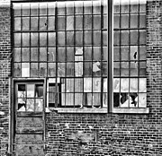 Bethlehem Prints - Window BW Print by Chuck Kuhn
