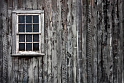 Wood Shingles Posters - Window  Poster by Christine Sharp