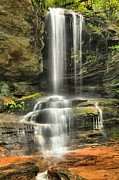 Window Ledges Prints - Window Falls Cascade Print by Adam Jewell