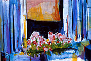 First Art Show - Window Flowers by John Gholson