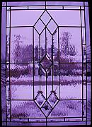Anna Villarreal Garbis Metal Prints - Window I Metal Print by Anna Villarreal Garbis