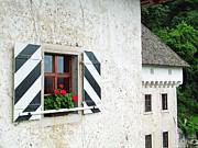 Window Ledge Predjama Castle Predjama Slovenia Print by Joseph Hendrix