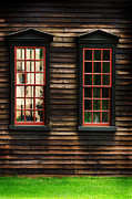 New England Architecture Photos - Window of New England by HD Connelly