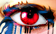 Soulful Eyes Digital Art - Window Of The Soul - Love by Eleigh Koonce