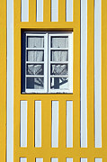 Dias Dos Reis - Window on Yellow Stripes