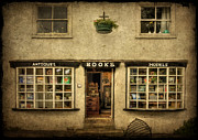 Entrance Shop Front Prints - Window Shopping Print by Evelina Kremsdorf
