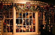 Christmas Lights Photos - Window Shopping by Kristin Elmquist