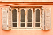 Moroccan Photos - Window Shutter by Tom Gowanlock