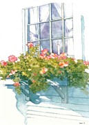Window Sill Print by Sloane FinneganAllen