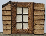 Texture Sculpture Prints - Window Print by Steve  Hester