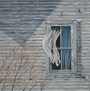 Weathered Pastels Prints - Window Study Print by James Clewell