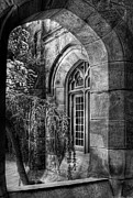 Princeton University Framed Prints - Window - Through a window Framed Print by Mike Savad