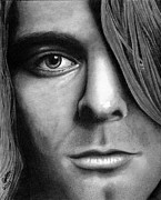 Nirvana Drawings - Window to a troubled soul by Chris Cox