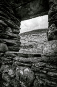 Snowdonia Framed Prints - Window to Tryfan Framed Print by David Bowman