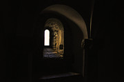 Old Wall Prints - Window with Light Print by Mats Silvan