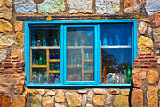 Adobe Prints - Windows of New Mexico I Print by David Patterson
