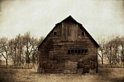 Barn Digital Art Prints - Windows1 Print by Julie Hamilton