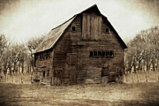 Barn Digital Art Prints - Windows4 Print by Julie Hamilton