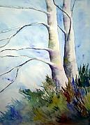 Birch Trees Paintings - Winds of Provence by Joanne Smoley