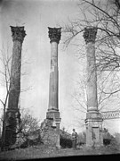 1930s Candid Photos - Windsor Castle Ruins, Constructed by Everett