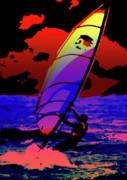 Windsurfer Print by Brian Roscorla