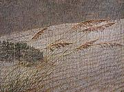 Sea Oats Prints - Windswept Print by Gordon Beck