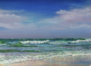 Waves Pastels - Windswept by Kathy Dolan