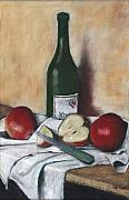 Sonoma Originals - Wine and Apples by Ellen Minter