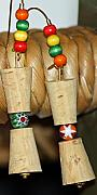 Summer Jewelry - Wine And Cheese by Tanya Netting
