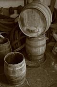 Gaspar Avila - Wine barrels