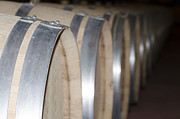 Wine Barrel Art - Wine barrels by Mats Silvan
