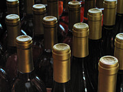 North Fork Prints - Wine bottles II Print by Steve Gravano