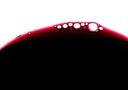 Liquid Droplets Prints - Wine Bubles Print by Carlos Caetano