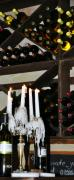 Wine Cellar Photo Prints - Wine by Candlelight Print by Rose  Hill