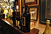 Wine Bottle Wall Art Photos - Wine Cellar  2 by Tanya  Searcy