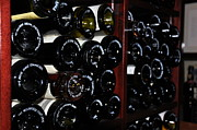 Wine Bottle Wall Art Photos - Wine Cellar  3 by Tanya  Searcy