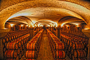 Wine Cellar Photos - Wine Cellar by David Sussan
