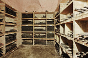 Cellar Photos - Wine Cellar by Jeremy Woodhouse