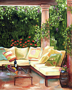 Wine Country Originals - Wine Country afternoon by Joanne Robinson