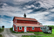Farming Framed Prints Prints - Wine Country Barn II Print by Steven Ainsworth